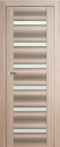 Межкомнатная дверь  57Х матовое 800*2000 Капучино мелинга серия ProfilDoors серия X Модерн из экошпона   - Апис плюс