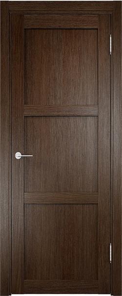 Межкомнатная дверь  Баден (01) ДГ 800*2000 Дуб табак серия Eldorf из экошпона   - Апис плюс