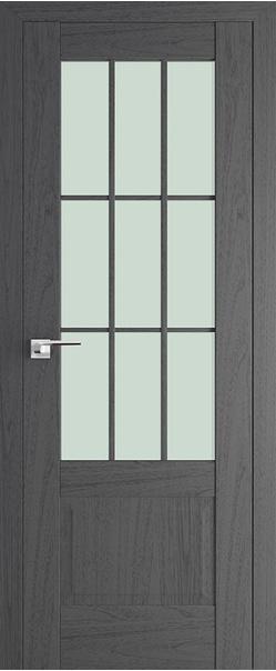Межкомнатная дверь  104Х матовое 800*2000 Пекан темный серия ProfilDoors серия X Классика из экошпона   - Апис плюс