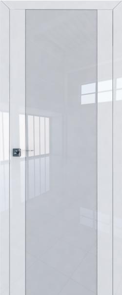 Межкомнатная дверь  8L триплекс белый 800*2000 Белый люкс серия ProfilDoors серия L глянец    - Апис плюс