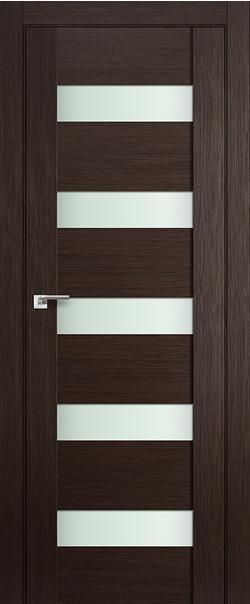 Межкомнатная дверь  29Х матовое 800*2000 Венге мелинга серия ProfilDoors серия X Модерн из экошпона   - Апис плюс
