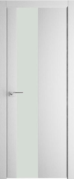 Межкомнатная дверь  5 ZN белый лак 800 Монблан кромка матовая РФ с 4 сторон Eclipse серия ZN Модерн из экошпона   - Апис плюс