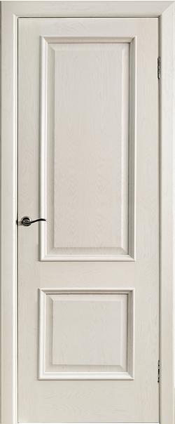 Межкомнатная дверь  Шервуд-2 ДГ 800*2000 Слоновая кость серия Премиум из шпона    - Апис плюс
