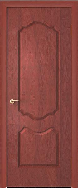 Межкомнатная дверь  Орхидея ДГ ПВХ 800*2000 Итальянский орех серия Стандарт из ПВХ    - Апис плюс