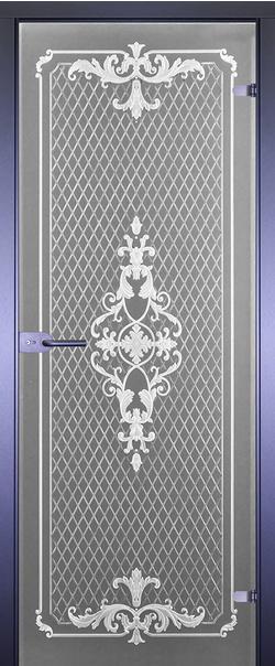 Межкомнатная дверь  Классика 12 стекло бронза матовое 800*2000 3D R серия Art-Decor (Арт-Декор)    - Апис плюс