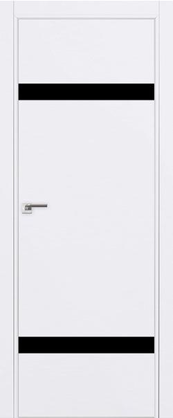 Межкомнатная дверь  3 E черный лак 800 Аляска (кромка матовая) AGB Eclipse серия E из экошпона   - Апис плюс
