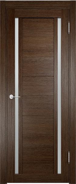 Межкомнатная дверь  Берлин (06) 800*2000 Дуб табак серия Eldorf из экошпона   - Апис плюс