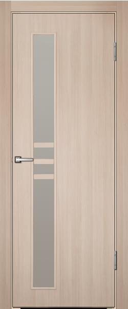 Межкомнатная дверь  Инфинити 3 ДО 800*2000 Капучино серия Техно из МДФ    - Апис плюс