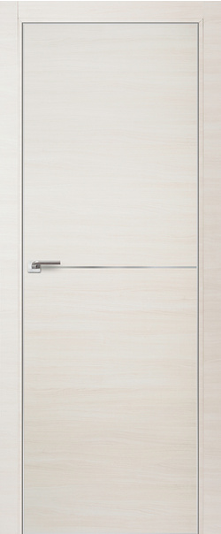 Межкомнатная дверь  12 Z 800 Эшвайт  кроскут кромка матовая РФ с 4 сторон серия Z из экошпона   - Апис плюс