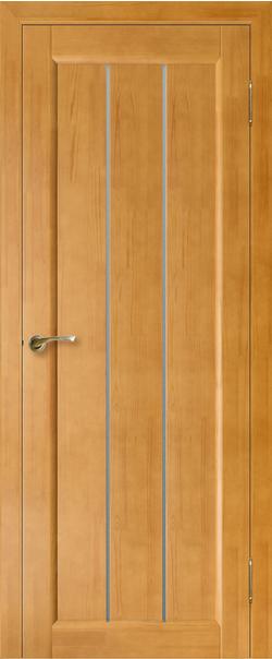 Межкомнатная дверь  Модель №1 ЧО 800.2*2000 Песок серия Массив сосны    - Апис плюс