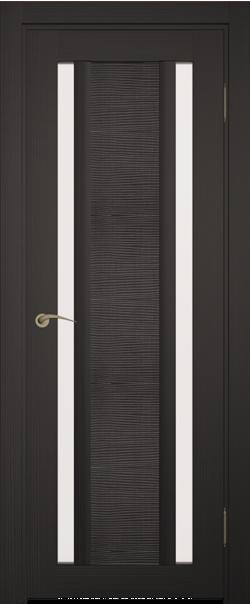 Межкомнатная дверь  Римини Тара ДО 800*2000 Венге серия Сити из экошпона   - Апис плюс