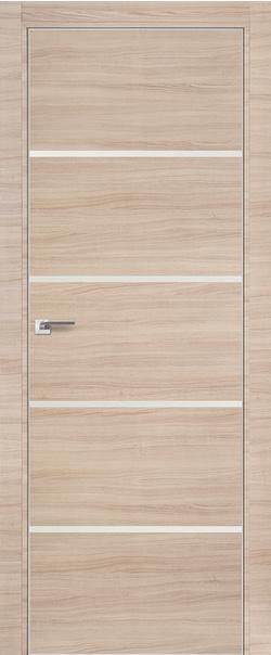 Межкомнатная дверь  20 Z белый лак 800 Капучино кроскут кромка матовая РФ с 4 сторон Eclipse (190) серия Z из экошпона   - Апис плюс