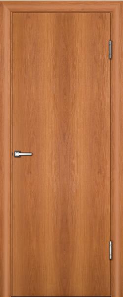 Межкомнатная дверь  ДПГ техно 800*2000 Миланский орех серия Техно из МДФ    - Апис плюс