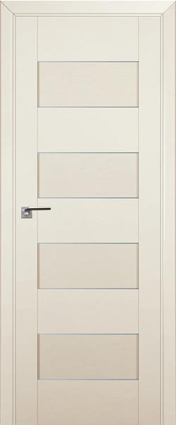 Межкомнатная дверь  45U графит 800*2000 Магнолия сатинат серия ProfilDoors серия U Модерн из экошпона   - Апис плюс