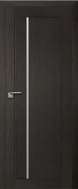 Межкомнатная дверь  2.70XN матовое 800*2000 Даркбраун серия ProfilDoors серия XN Модерн из экошпона   - Апис плюс
