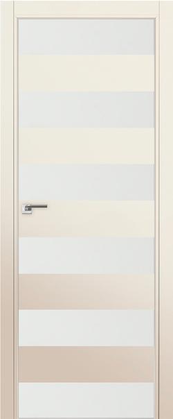 Межкомнатная дверь  8 Е белый лак 800 Магнолия сатинат (кромка матовая) AGB Eclipse  серия E из экошпона   - Апис плюс