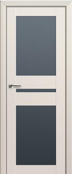 Межкомнатная дверь  70U графит 800*2000 Магнолия Сатинат серия U Модерн из экошпона   - Апис плюс