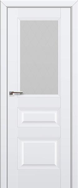 Межкомнатная дверь  67U матовое ромб 800*2000 Аляска серия ProfilDoors серия U Классика из экошпона   - Апис плюс