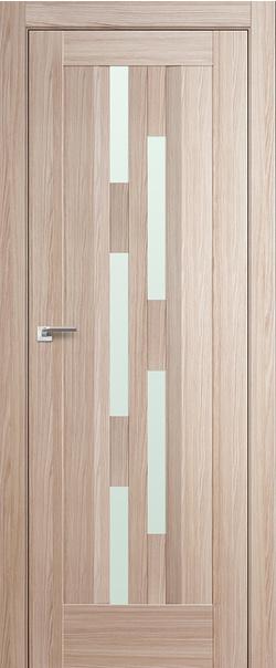 Межкомнатная дверь  30Х матовое 800*2000 Капучино мелинга серия ProfilDoors серия X Модерн из экошпона   - Апис плюс