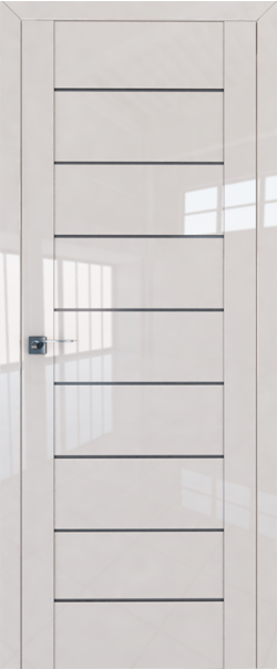 Межкомнатная дверь  45L графит 800*2000 Магнолия люкс серия ProfilDoors серия L глянец    - Апис плюс