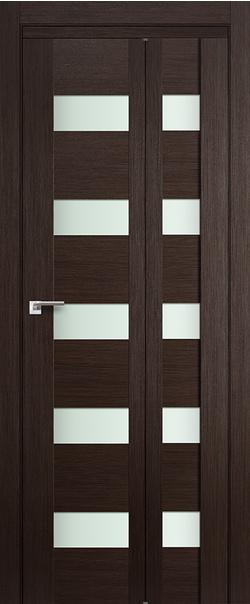 Складная дверь 29 X матовое СКЛАДНАЯ 300*500 Венге Мелинга Т1     - Апис плюс
