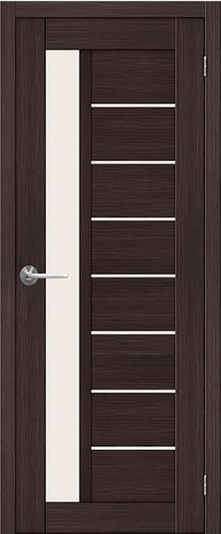 Межкомнатная дверь  ST4 ПО 800*2000 Венге серия STARK из экошпона   - Апис плюс