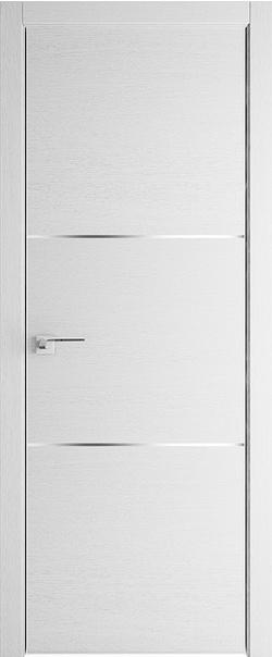 Межкомнатная дверь  2 ZN 800 Монблан кромка матовая РФ с 4 сторон Eclipse(190) серия ZN Модерн из экошпона   - Апис плюс