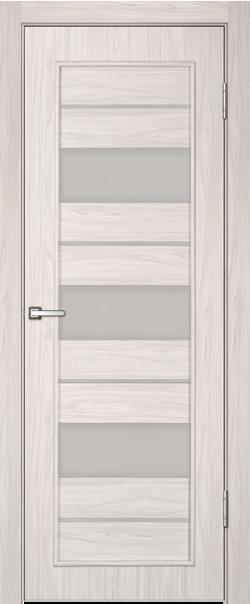 Межкомнатная дверь  Техно110 ДО 800*2000 Белый дуб серия Техно из МДФ    - Апис плюс