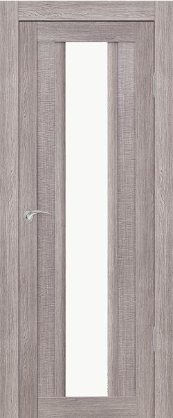 Межкомнатная дверь  Верона Тара ДО 800*2000 Грей серия Сити из экошпона   - Апис плюс