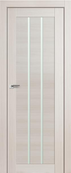 Межкомнатная дверь  49Х матовое 800*2000 Эшвайт мелинга серия ProfilDoors серия X Модерн из экошпона   - Апис плюс