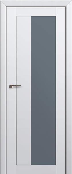 Межкомнатная дверь  47U графит 800*2000 Аляска AL серия ProfilDoors серия U Модерн из экошпона   - Апис плюс