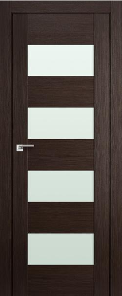 Межкомнатная дверь  46Х матовое 800*2000 Венге мелинга серия X Модерн из экошпона   - Апис плюс