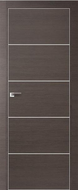 Межкомнатная дверь  7 Z 800 Грей кроскут кромка матовая РФ с 4 сторон серия Z из экошпона   - Апис плюс