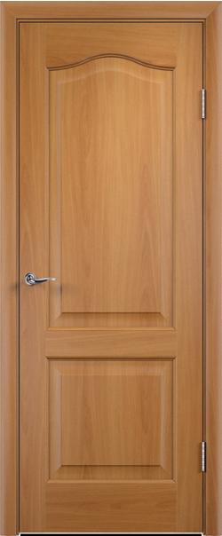 Межкомнатная дверь  Классика ДГ 800*2000 Миланский орех серия Ламинированные из МДФ    - Апис плюс