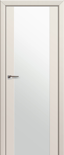 Межкомнатная дверь  8U бел. трипл. 800 Магнолия серия ProfilDoors серия U Модерн из экошпона   - Апис плюс