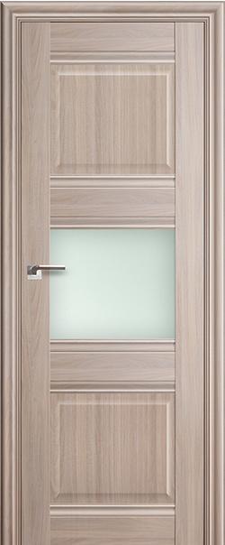 Межкомнатная дверь  5Х матовое 800*2000 Орех пекан серия ProfilDoors серия X Классика из экошпона   - Апис плюс