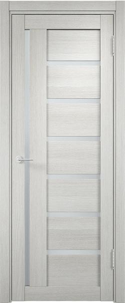 Межкомнатная дверь  Берлин (02) 800*2000 Слоновая кость серия Eldorf из экошпона   - Апис плюс