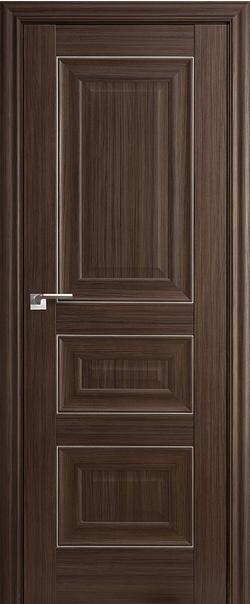 Межкомнатная дверь  25Х 800*2000 Натвуд натинга серебро серия ProfilDoors серия X Классика из экошпона   - Апис плюс