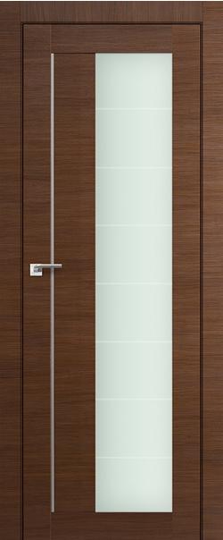Межкомнатная дверь  47Х varga 800*2000 Малага черри кроскут AL серия ProfilDoors серия X Модерн из экошпона   - Апис плюс