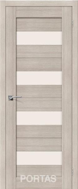 Межкомнатная дверь  23S матовое 800*2000 Лиственница крем серия Portas из экошпона   - Апис плюс