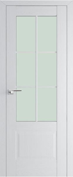 Межкомнатная дверь  103Х матовое 800*2000 Пекан белый серия ProfilDoors серия X Классика из экошпона   - Апис плюс