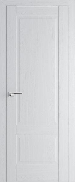 Межкомнатная дверь  105Х 800*2000 Пекан белый серия ProfilDoors серия X Классика из экошпона   - Апис плюс