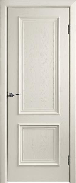 Межкомнатная дверь  Валенсия-4 ДГ 800*2000 Слоновая кость серия Премиум из шпона    - Апис плюс