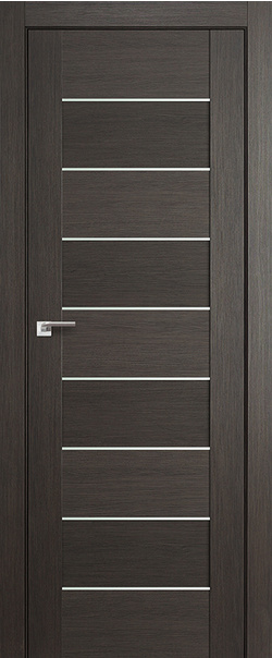 Межкомнатная дверь  45Х матовое 800*2000 Грей мелинга серия ProfilDoors серия X Модерн из экошпона   - Апис плюс