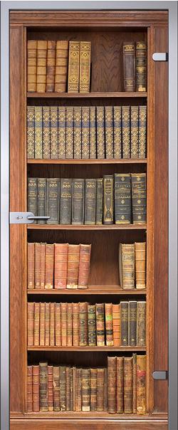 Межкомнатная дверь  Books 800*2000 R серия Imagination (Имэжинэйшн)    - Апис плюс