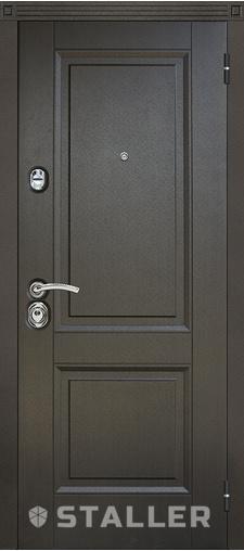 Входная дверь Нова Дуб салинас темный 860 R Сталлер   - Апис плюс