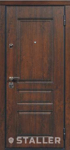 Входная дверь Лондон мет. 860 R Сталлер   - Апис плюс