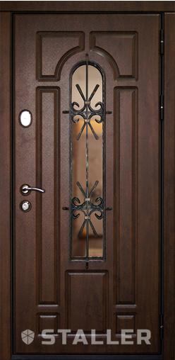 Входная дверь Бари 880 R Сталлер   - Апис плюс