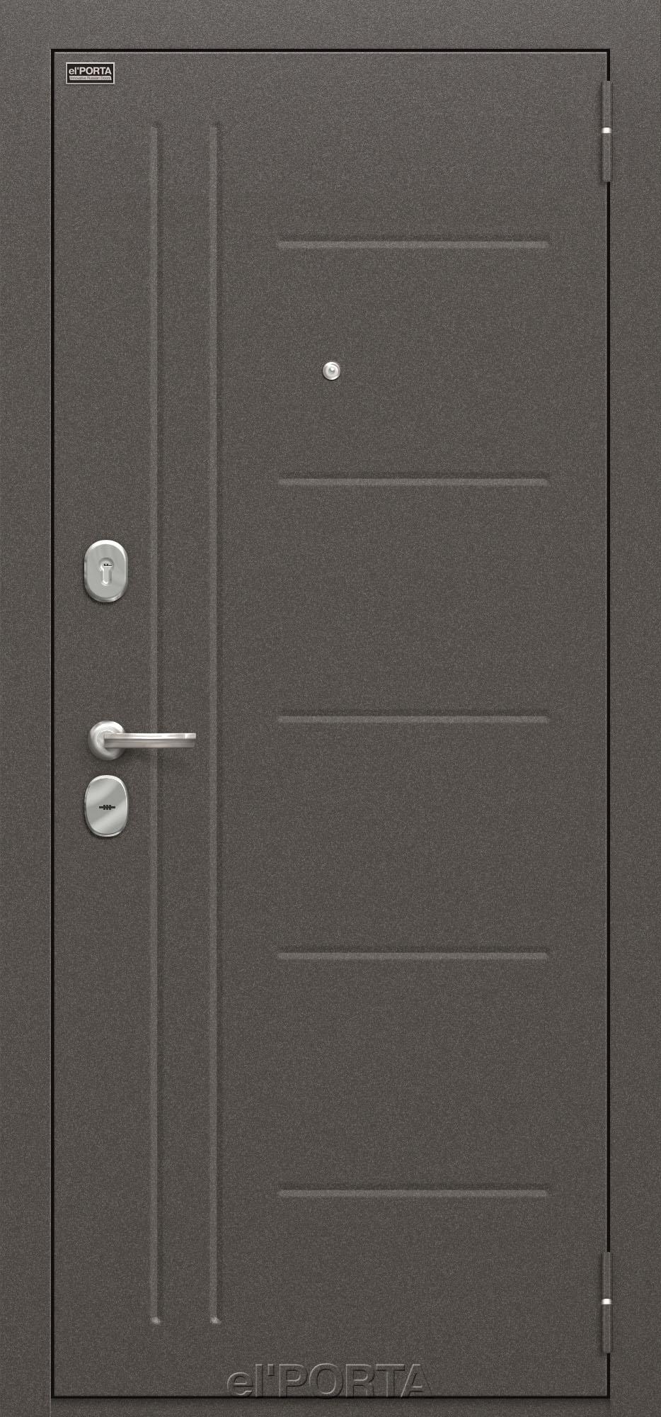 Дверь входная металлическая ПРОФ BIANCO VERALINGA - Апис плюс