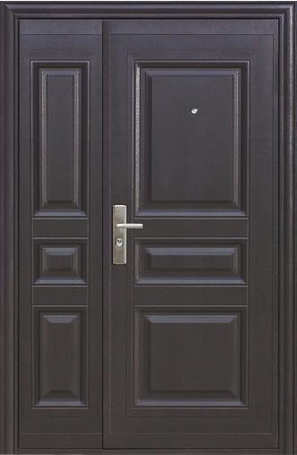 Входная дверь К700 (двупольная) 1200 R Кайзер    - Апис плюс